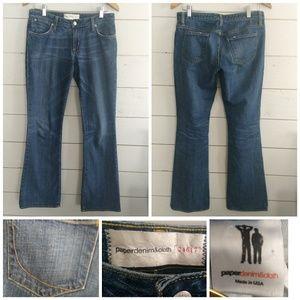 Paper Denim & Cloth Mid-rise Boot cut Size 28